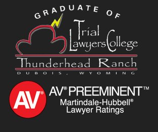 Ken Turek - Graduate of the Trial Lawyers Collage and Rated AV Preeminant